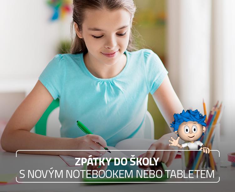 Notebooky a tablety do školy