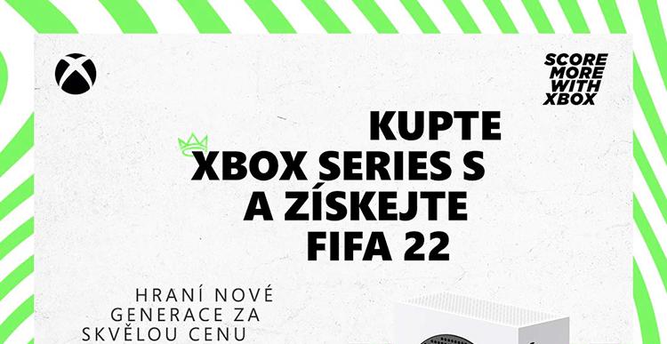 Microsoft Xbox Series S 512GB + FIFA 22